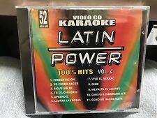 LATIN POWER KARAOKE VCD DVD VCLP-052 100% HITS VOL 4 SEALED