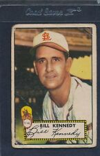1952 Topps #102 Bill Kennedy Browns Poor 52T102-33116-1