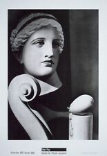Musee de l'Elysee Lausanne b&w Man Ray poster print  - 70x50cms, sculptures