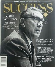 Success Dec 2016 John Wooden The Greatest Coach of All Time FREE SHIPPING sb