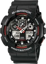 Brand New Casio G-Shock GA100-1A4 Red/Black Men's Watch Ana-Digi NWT!!!