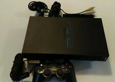 Sony PlayStation 2 Fat Console PS2  Controller HDD Adapter Tested & Works