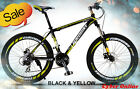 Brand New Cyber Z300 Black&Gold 26 inch 21 Gears Shimano Mountain bike+bonus