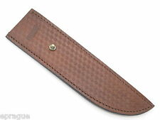 "MARBLES TRAILMAKER LEATHER BOWIE KNIFE SHEATH 10"" FIXED BLADE COLD STEEL (271A)"