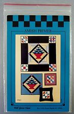 Amish Basket Quilting Pattern Wall Hanging Quilt Pillow Framed Block Pillow Sew