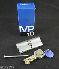 EuroSpec CYH71270SC MP10 Euro Double Cylinder Lock 70mm Satin Chrome ERA Yale