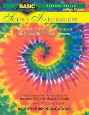 Science Investigations BASIC/Not Boring 6-8+: Inventive Exercises to Sharpen Ski