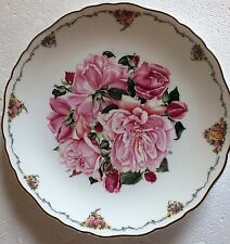 The Queen Mothers favourite flowers Royal Albert Collectors plate Albertine Rose