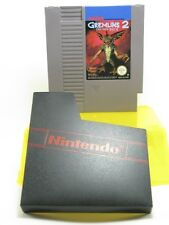 GREMLINS 2 the new batch /jeux NINTENDO NES ,pal,TBE,dust cover -