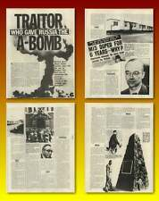 Traitor Klaus Fuchs Gave Russia The A-bomb Old Article