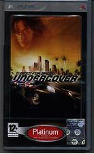 PSP - NEED FOR SPEED Undercover - PLATINUM - NUOVO PAL ITA