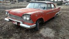 Plymouth Fury Belverdere Savoy 4 Door Parts Car 1958 57 58