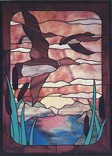 Sunrise On The Pond Stained Glass Supplies New Pattern Cke Publications