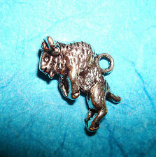 Pendant Animal Charm Buffalo Wild West Charm Hunting Bison Yellowstone Park