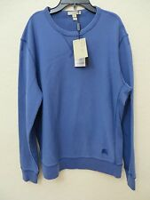 New Burberry Brit Sweater BARRTON LIGHT LAPIS BLUE Size M. MSPR $ 295.00