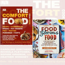 Food Glorious Food From Cake 2 Books Collection Set The Comfort Food Cookbook