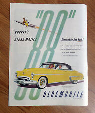 1950 Oldsmobile 88 Holiday Coupe Ad