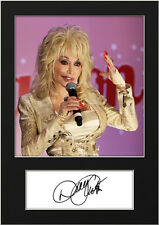 DOLLY PARTON #3 Signed Photo Print A5 Mounted Photo Print - FREE DELIVERY