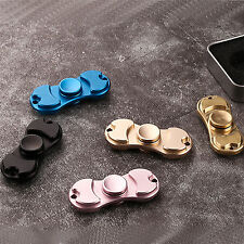 STAINLESS METAL HAND SPINNER FIDGET CERAMIC HYBRID BEARING DESK TOY 3 MIN SPIN