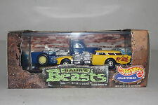 "HOT WHEELS ""BAURS BEASTS"" 2 CAR LIMITED EDITION ADULT COLLECTOR SET"