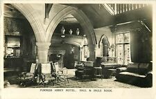 Hall & Ingle Nook, Furness Abbey Hotel, Barrow in Furness, UK RPPC