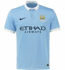 Nike 658886-489 2015-2016 MANCHESTER CITY HOME SHIRT - Medium (Going to Wembley)