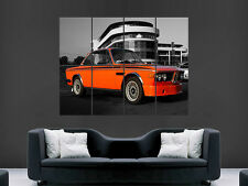 BMW E9 CAR CLASSIC WALL POSTER ART PICTURE PRINT LARGE  HUGE
