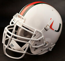 RAY LEWIS Edition MIAMI HURRICANES Full Size Gameday REPLICA Football Helmet