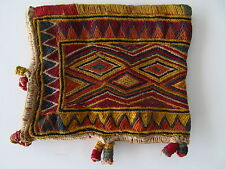 Banjara embroidery, vintage textile, exquisite dowry bag, Rajasthan, India