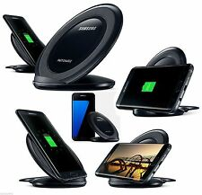 Genuine Qi Wireless Charger Pad With Stand For Samsung Galaxy S7 Edge S7 S6 New