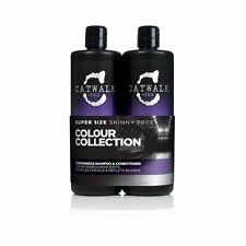 TIGI Catwalk Fashionista Blonde Twin Set - Shampoo 750ml & Conditioner 750ml