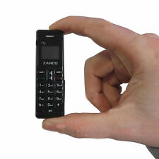 NEW Zanco fly phone- BLACK (The worlds smallest phone,voice changer,100% plastic