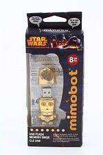 STAR WARS Mimobot 8GB C 3PO Flash Drive New Free Shipping
