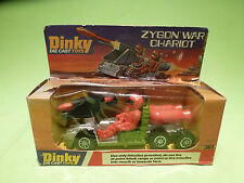 DINKY TOYS 361 ZYGON WAR CHARIOT - GREEN + RED - RARE SELTEN - IN GOOD CONDITION