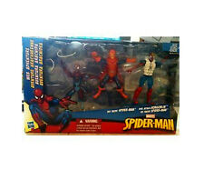 Marvel Comics Universe Spiderman Toy Figura Set Con Rara Placa Goblin Villano