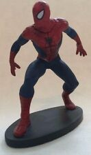Disney Store Authentic SPIDER-MAN FIGURINE Cake TOPPER Toy MARVEL SPIDERMAN NEW
