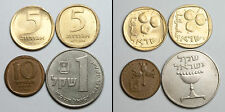 A206 Israel lote de 4 monedas  - lot of 4 coins