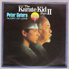 """7"""" Peter Cetera Glory Of Love (The Karate Kid Part II) / On The Line 80`s"""