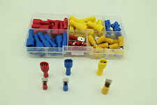 90PCS Male&Female Insulated Spade Connector Terminals Assortment Kit 22-10AWG