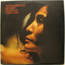 YOKO ONO Approximately Infinite Universe 1973 UK Apple LP JOHN LENNON Beatles