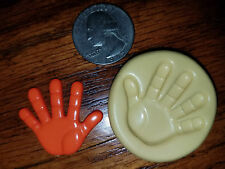 Hand Silicone Mold Gumpaste Fondant Cake Chocolate clay  #431