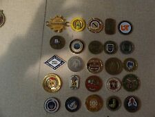 CHALLENGE COIN LOT SET OF 25 DIFFERENT MILITARY POLICE INFANTRY 101ST AIRBORNE