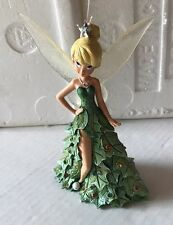 "Tinkerbell ""All Decked Out For The Holidays"" Bradford Exchange Figurine Disney"