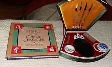 CHINESE CALLIGRAPHY SET & KANJI CHARACTER BOOK *  Craft. Gift. Collectable