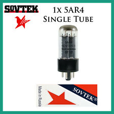 New 1x Sovtek 5AR4 / GZ34 / 5U4 | One / Single Rectifier Tube