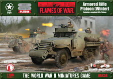 Flames of War US Armored Rifle Platoon winter