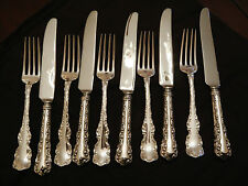 Birks Sterling 5 sets of luncheon/dessert forks and knives