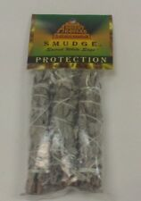 ANCIENT AROMAS  SACRED WHITE SAGE SMUDGE STICKS AND HERB INCENSE 3 PACK 4 INCH