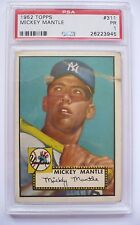 1952 Topps Mickey Mantle #311 PSA 1 Yankees Strong 1... PSA 1.5?