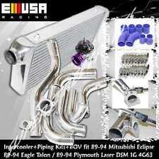 Intercooler+Piping Kit+BOV fit90-94 Plymouth Laser RS Hatchback 2.0 DSM 1G 4G63